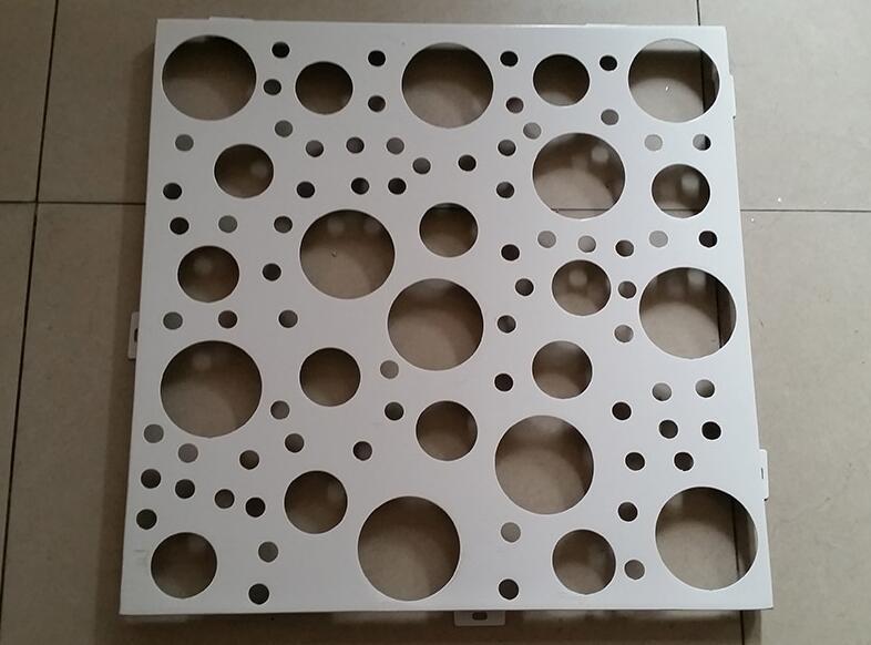 云南雕花冲孔铝单板,为艺术增添色彩