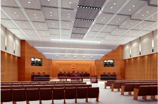 法院会议室造型铝单板