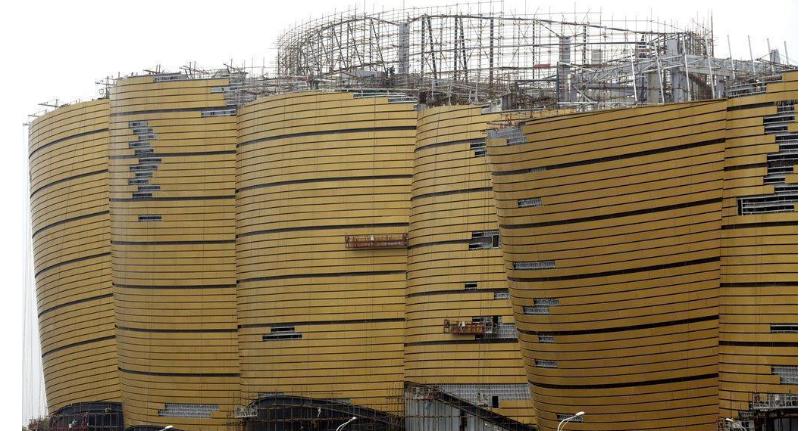外墙金色氟碳铝单板